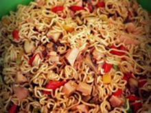 Asiatischer Mie-Nudelsalat - Rezept
