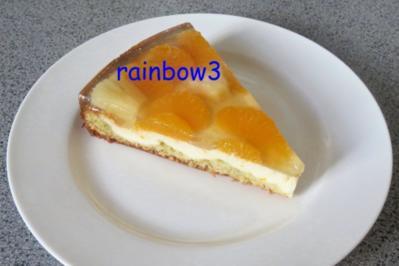 Backen: Quark-Obst-Torte mit Pistazienboden - Rezept