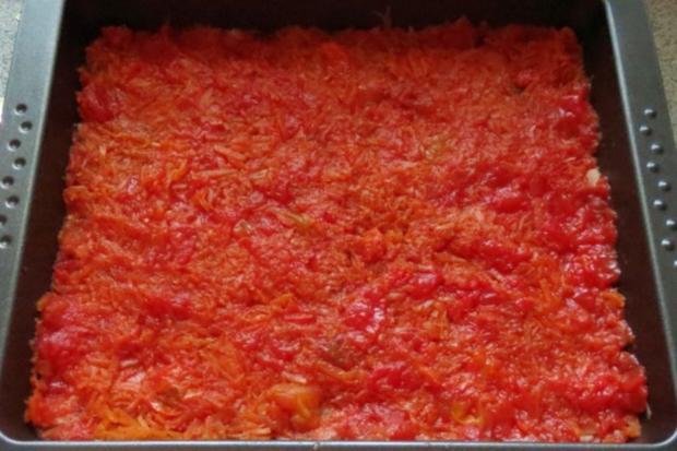 Auflauf: Hackfleisch + Gemüse geschichtet - Rezept - Bild Nr. 2