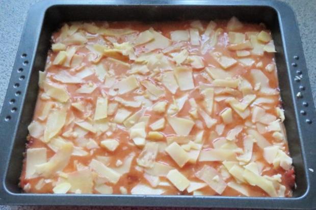 Auflauf: Hackfleisch + Gemüse geschichtet - Rezept - Bild Nr. 3