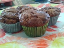 Jumbo- Schoko- Muffins - Rezept