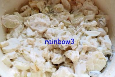 Salat: Kartoffelsalat mit Joghurt-Majonäse - Rezept