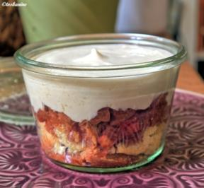 Rezept: Rhabarber-Whisky-Dessert