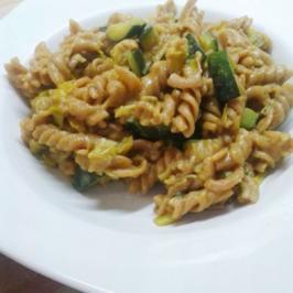 One-Pot-Pasta mit Zucchini - Rezept