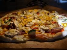Pizza Rusticana - Rezept