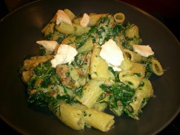 Spinat-Ricotta-Pasta - Rezept - Bild Nr. 3