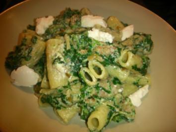Rezept: Spinat-Ricotta-Pasta