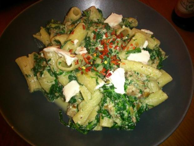 Spinat-Ricotta-Pasta - Rezept - Bild Nr. 2