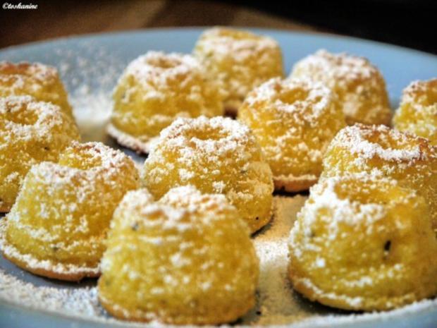 Zitronen-Holunderblüten-Guglhüpfer - Rezept - Bild Nr. 10