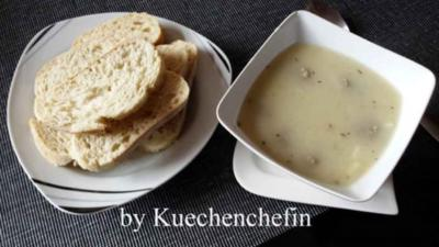 Spargelcremesuppe - Rezept