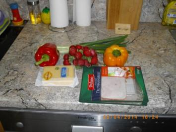 Rezept: Bunter Käsesalat