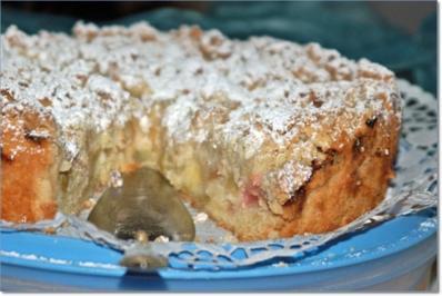 Rhabarberkuchen mit Knusperstreuseln - Rezept - Bild Nr. 96