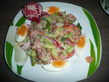 Lachs - Spargel -Salat - Rezept - Bild Nr. 75