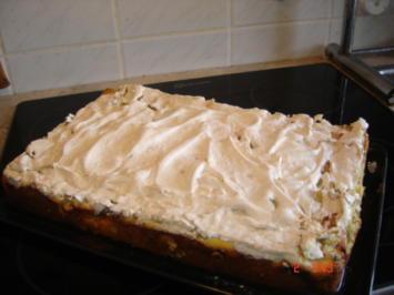 Rezept: Rhabarberkuchen mit Quark