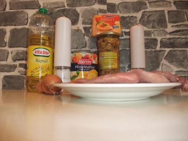 Überbackenes Pfirsichschnitzel mit Champignons - Rezept - Bild Nr. 86