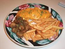 Überbackenes Pfirsichschnitzel mit Champignons - Rezept - Bild Nr. 88