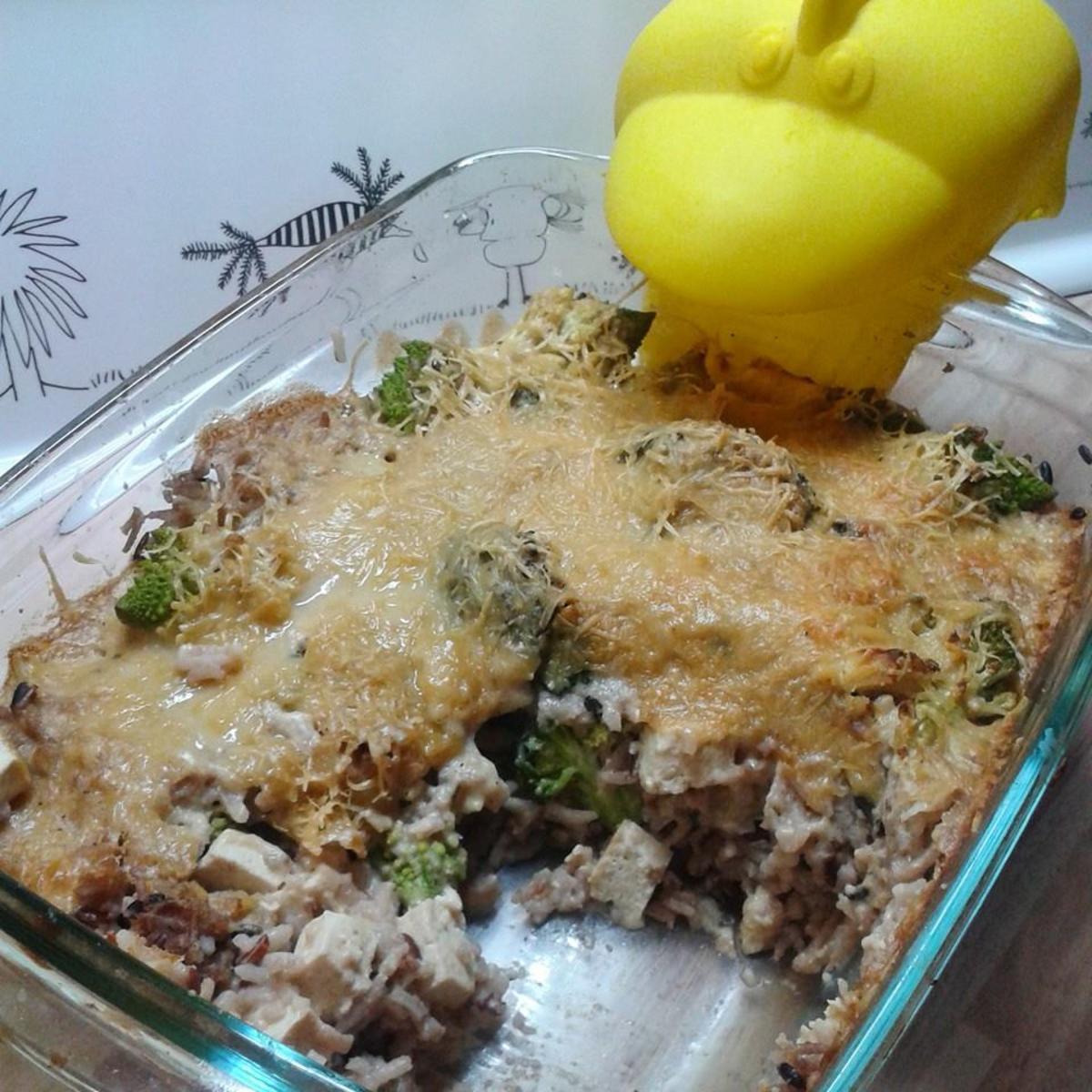 Reisauflauf vegan - Rezept von schneckenkind08