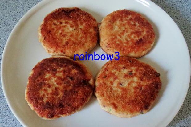 Kochen: Lachs-Frikadellen mit Kartoffeln - Rezept - Bild Nr. 86