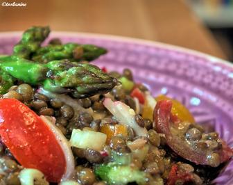 Linsen-Spargel-Salat - Rezept - Bild Nr. 93