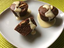 Schoko-Apfel-Erdmandel-Muffins - Rezept - Bild Nr. 93