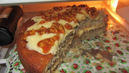 Hummingbird Kuchen /Ananas-Bananenkuchen mit Frischkäsecreme - Rezept - Bild Nr. 41