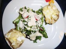 Birnen Crostini mit Italia Salat an Joghurt Sauce - Rezept - Bild Nr. 53