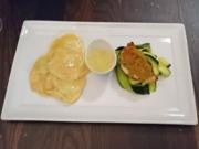 Seeteufel unter der Pistazienkruste mit Erbsravioli und Vanille-Beurre-Blanc - Rezept - Bild Nr. 53