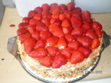 Erdbeer-Marzipantorte - Rezept - Bild Nr. 40