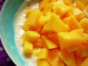 Frühstück: Gesunder Mango-Joghurt mit Leinöl und Chia Samen - Rezept - Bild Nr. 40