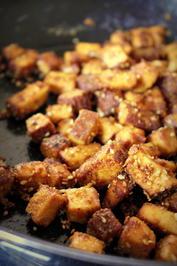 Grundrezept um Tofu knusprig zu braten - Rezept - Bild Nr. 40
