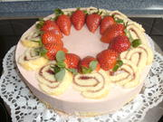 Erdbeer-Rhabarber-Joghurttorte - Rezept - Bild Nr. 46