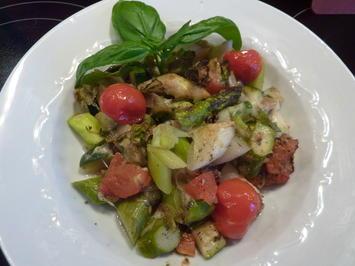 Überbackene Spargel mit Tomaten und Zucchini - Rezept - Bild Nr. 49