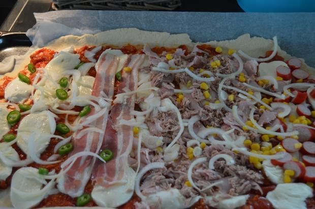 Grundrezept Pizzateig und Pizzasoße - Rezept - Bild Nr. 33