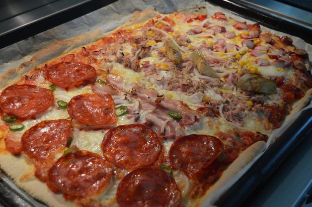 Grundrezept Pizzateig und Pizzasoße - Rezept - Bild Nr. 34