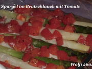 Gemüse : Spargel mit Fleischtomate im Bratschlauch - Rezept - Bild Nr. 29