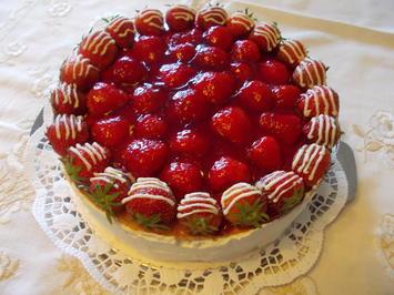 Erdbeer-Creme -Torte - Rezept - Bild Nr. 33