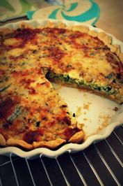 Pikante Zucchini-Ziegenkäse-Tarte - Rezept - Bild Nr. 21