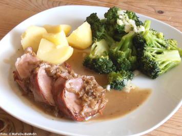 Rezept: Schweinefilet mit Sahnesauce