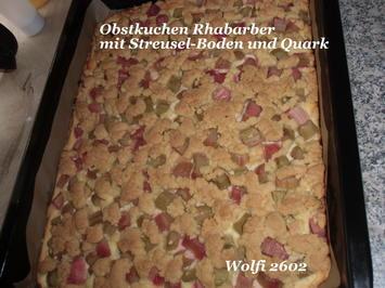 Kuchen : Rhabarber-Quark-Streusel-Kuchen - Rezept - Bild Nr. 15