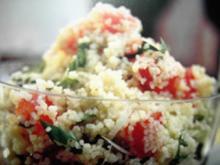 Salate: Tabbouleh - Couscoussalat - Rezept