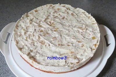Rezept: Backen: Mango-Sahne-Torte