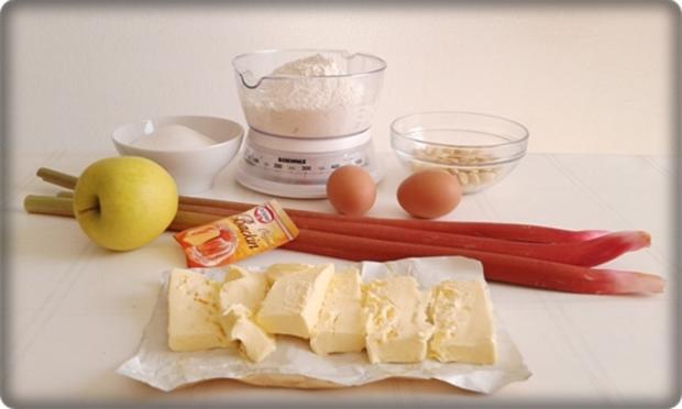 Rhabarber-Apfel-Mandel-Streuselkuchen - Rezept - Bild Nr. 31