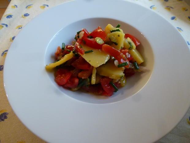 Lachskotlett mit Kartoffelsalat - Rezept - Bild Nr. 15