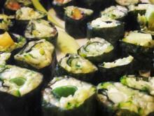 Sushi aus Zucchini-  LowCarb die Zweite  - Rezept - Bild Nr. 13