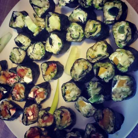 Sushi aus Zucchini-  LowCarb die Zweite  - Rezept - Bild Nr. 14