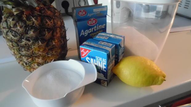 Ananas-Eis - Rezept - Bild Nr. 25