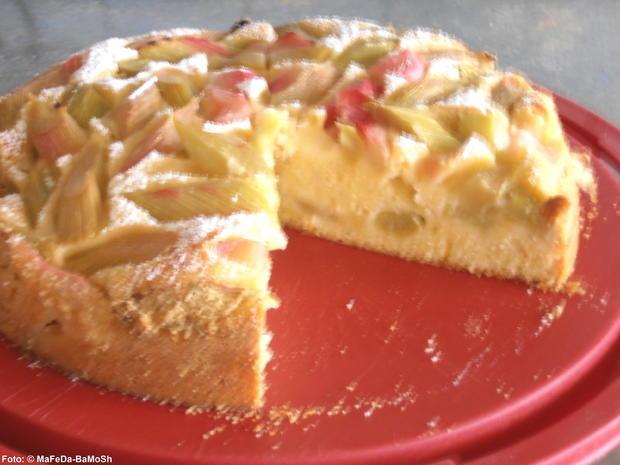 Rhabarber Joghurt Kuchen Rezept Mit Bild Kochbar De