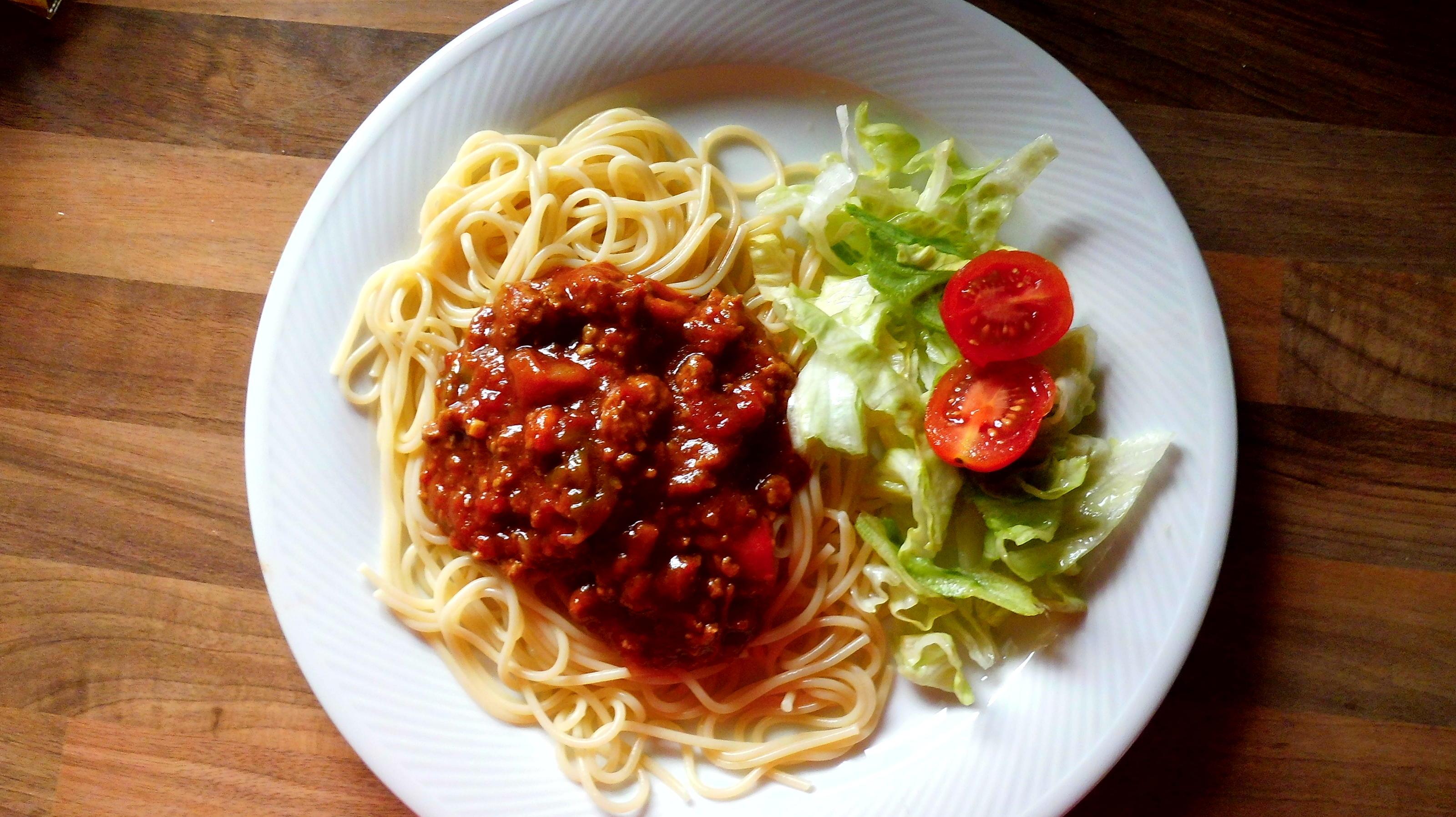 hackfleisch-tomatensosse - Rezept Gesendet von sternschnuppe23