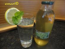 Zitronenmelissen Sirup - heiß angesetzt - Rezept - Bild Nr. 183