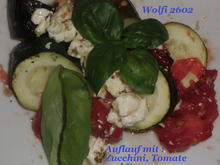 Vegetarisch : Auflauf mit Zucchini, Fleischtomate und Feta - Rezept - Bild Nr. 23
